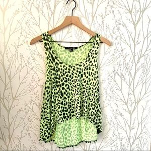 Forever 21 Leopard Tank Top